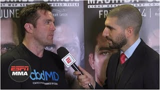 Chael Sonnen on decision to retire: 'I've used up all my toughness'   Bellator 222   ESPN MMA