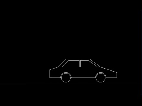 How to move car in C++ computer graphics!
