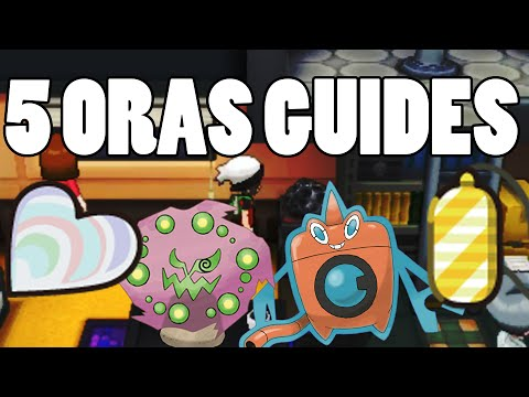 5 ORAS Guides - Heart Scale Guide, Spiritomb Location, Rotom / Deoxys forms, and Amulet Coin!