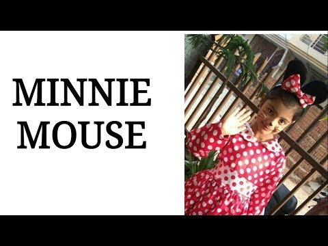Minnie Mouse | Fancy Dress Competition