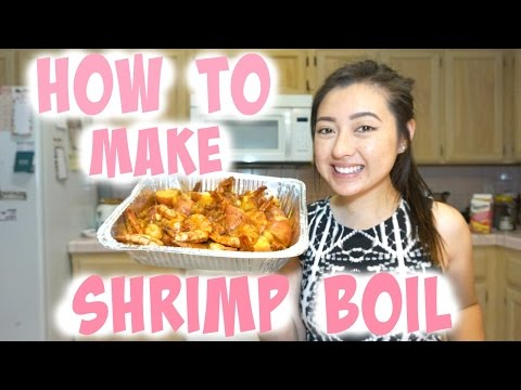 How to make shrimp boil | Ashley Saechao |