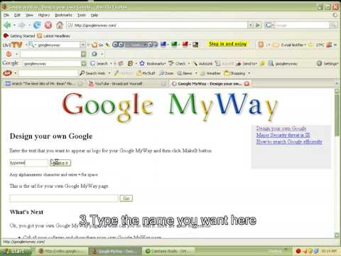How to make your name appear in Google
