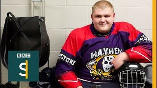 Sledge Hockey: I love the adrenalin, the violence - BBC Stories