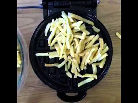 How to: french fries waffles❤️
