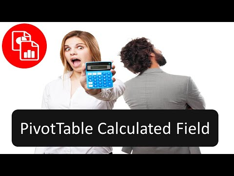 Create a Calculated Field in a PivotTable