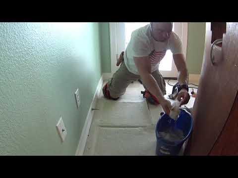 Austin Texas Westminster Glen carpet repair VLOG