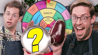 The Try Guys Mystery Wheel Cooking Challenge