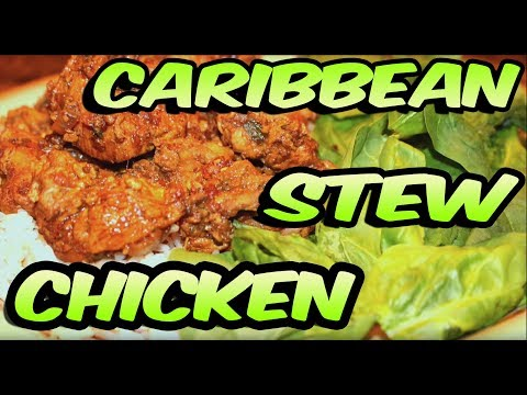 Juju's Recipes - Episode 1: How To Make Caribbean Stew Chicken (Trinidad)