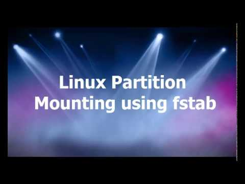 Linux Partitions tutorial- creating filesystem and mounting using fstab | Linux Tutorial #27