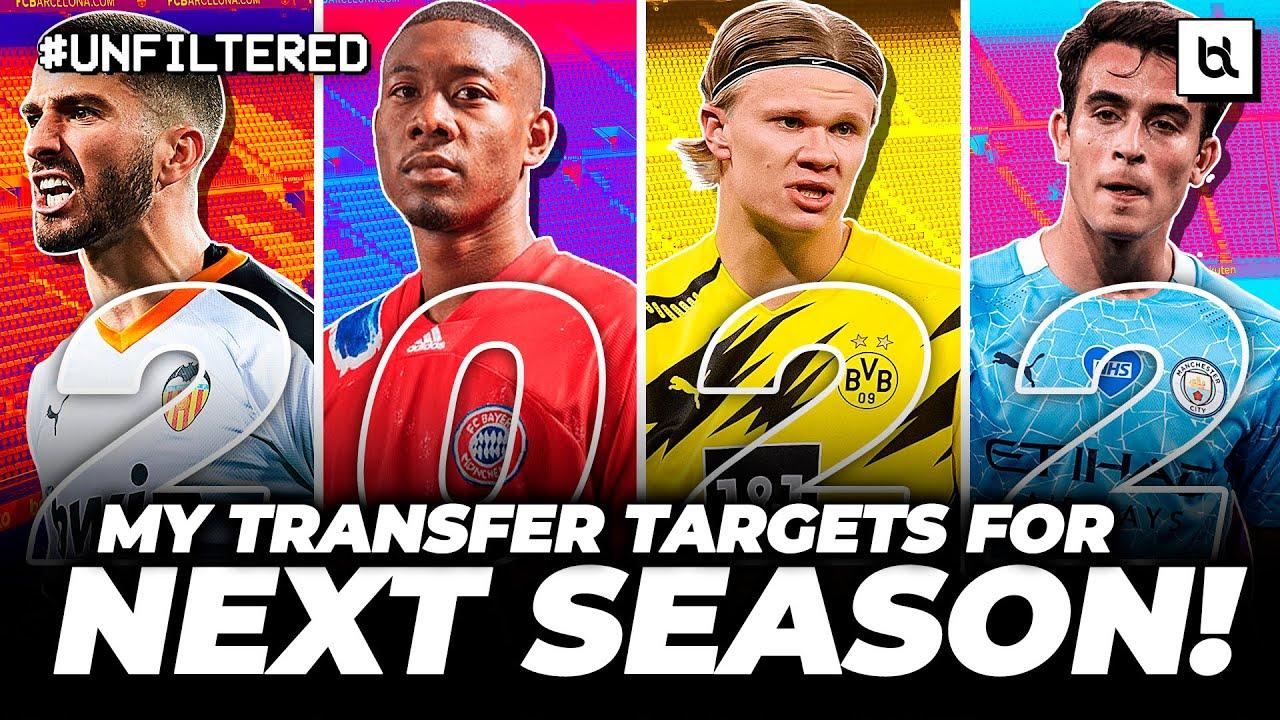 Every SENSIBLE Barcelona Transfer Target For Next Season! (2021/22)