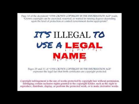 Arizona vital records folk know that birth certificates are fraud (audio 1 of 2)