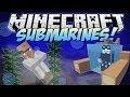 Minecraft Submarines Underwater Villages Atlantis Tools And
