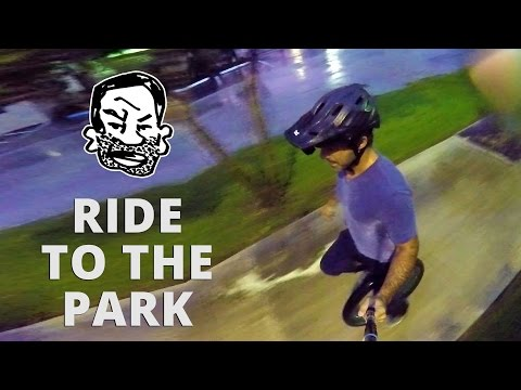 Unicycling in public & free mounting - Learning to Unicycle EP4