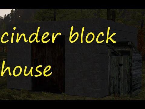 Dayz epoch building a cinder block house(modular house)