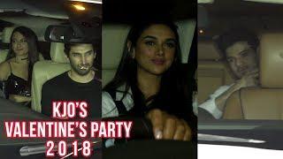 Stars at Karan Johar's Singles Only Valentine's Day Party | Athiya Shetty, Sonakshi Sinha