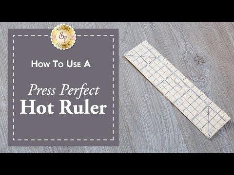 Press Perfect Hot Ruler | Shabby Fabrics