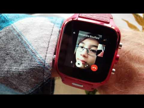 Connecte SmartWatch Facebook video call Messenger Wi-Fi or sim card