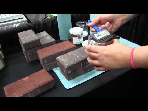 Restore Paver Color System Stain Treatment: By John Young of the Weekend Handyman