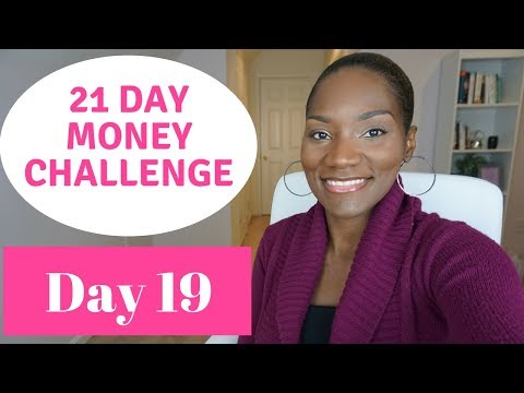 No Spend February??   21 Day Money Challenge   Day 19   Try a Spending Fast
