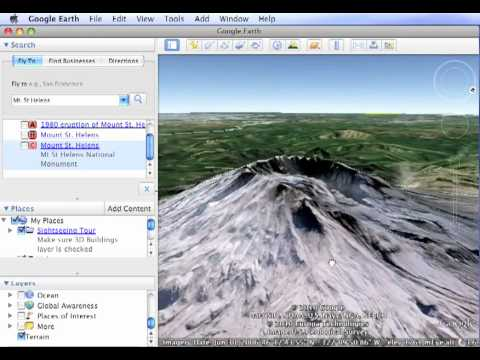 Google Earth - Step 1: Folders and placemarks