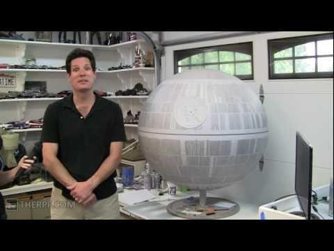 Star Wars Death Star Model | On the LAAM w/ Amanda Avery - Ep 5