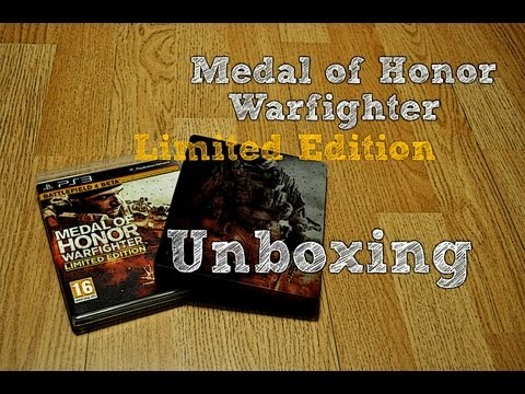Medal of Honor  Warfighter -  Unboxing Limited Edition