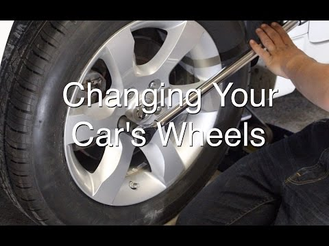 DIY: Changing Your Vehicle's Wheels