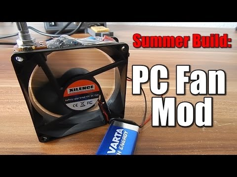 Stay cool this summer: PC Fan Mod
