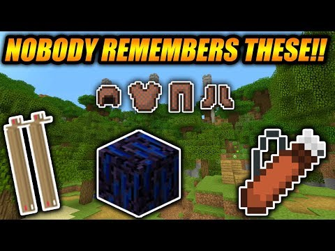 Top 5 FORGOTTEN FEATURES In Minecraft!! - Minecraft Xbox/PE/Java Features Nobody Remembers!