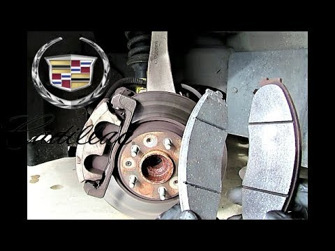 Cadillac STS: Learn How To Change Front Brake Pads - Save Time & Money