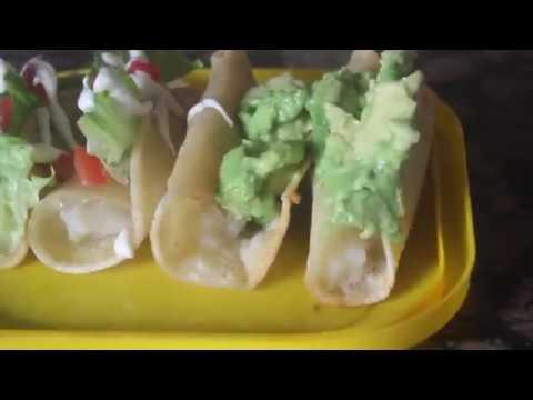 Fried Potato Tacos *Tacos Dorados de Papa | Vegan Mexican