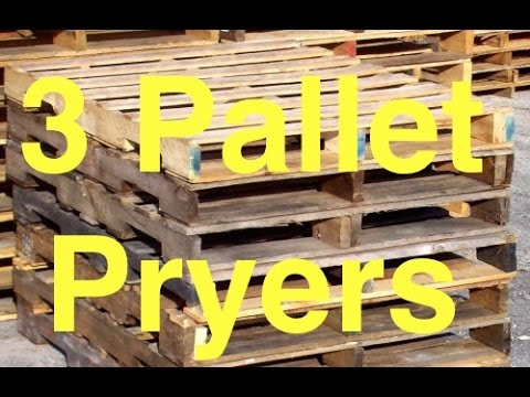 Testing 3 Tools For Dismantling Pallets