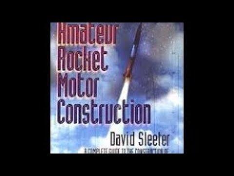 Book Review: Amateur Rocket Motor Construction
