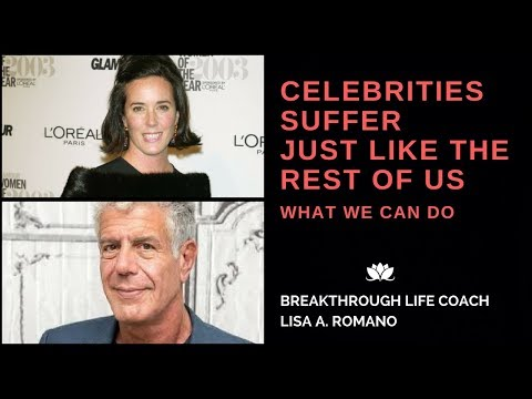 Anthony Bourdain and Kate Spade Suicide--EMOTIONAL PAIN is VALID