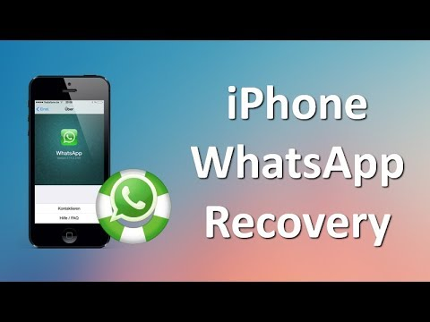 How to Retrieve Deleted WhatsApp Messages on iPhone 7/7 Plus/SE/6S/6S Plus