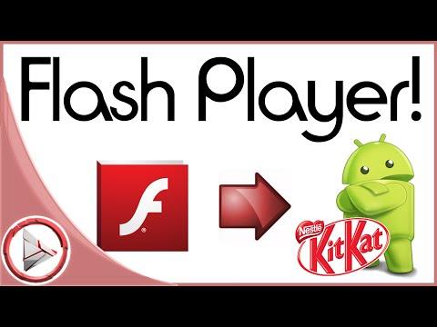 Flash Player für Android 4.4 KitKat installieren / aktualisieren