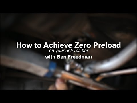Episode 7 - How to Achieve Zero Preload on your Anti-roll Bar