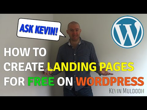 How to Create Landing Pages for Free on WordPress