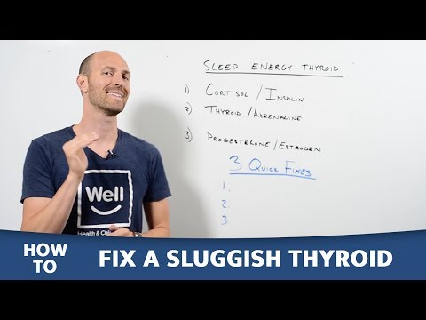How to Fix your Sluggish Thyroid and Boost Energy! | Naturally