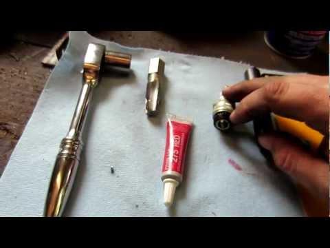 stripped spark plug repair briggs and stratton engine part 5