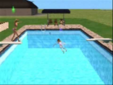 sims 2 diving session