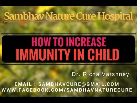 How to increase immunity in kids | Immune system booster for Child (toddlers) Acupressure in hindi