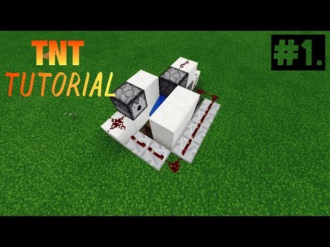 How to make a epic tnt cannon in Minecraft pe