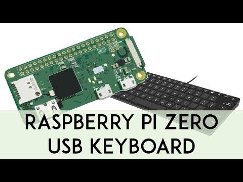 [DEMO] Turn Your Raspberry Pi Zero into a USB Keyboard (HID)