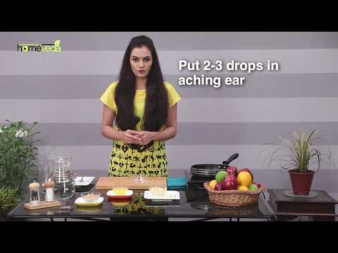 Treat Earache with Garlic Juice