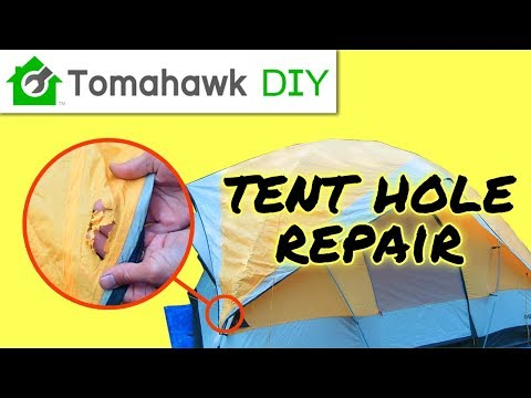How to Repair a Hole in a Tent - Fast and Easy!