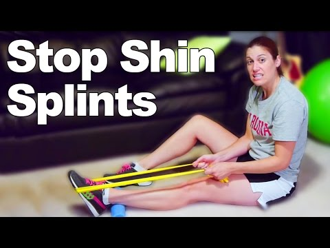 Shin Splints Strengthening Exercises & Stretches - Ask Doctor Jo