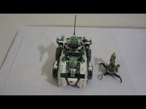 Lego Galaxy Squad 2013 Vermin Vaporizer Review and Stop Motion Build
