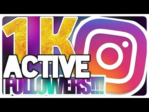 How to gain instagram followers without following or liking others in just one minute.