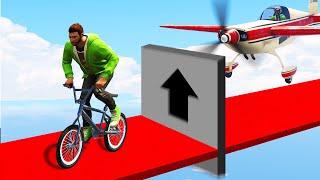 INCREDIBLE PLANES vs. BMX TROLL! (GTA 5 Funny Moments)